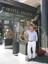 About to discover the world famous Sacher Torte.